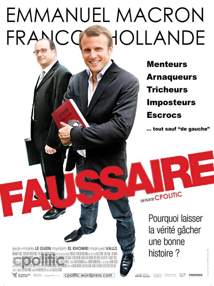 Macron le Faussaire